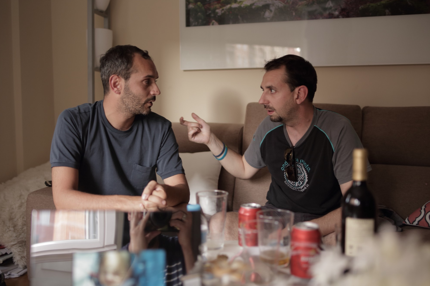 Roberto Bruccoleri a sinistra, Beniat sulla destra. ManueleGeromini©️