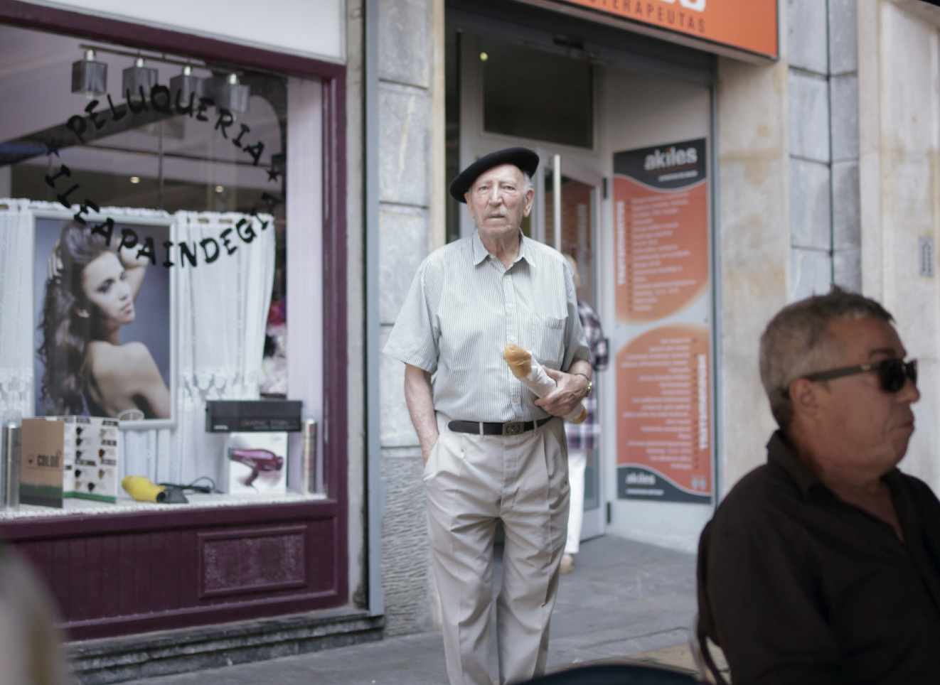 Un anziano con la txapela, ManueleGeromini©️