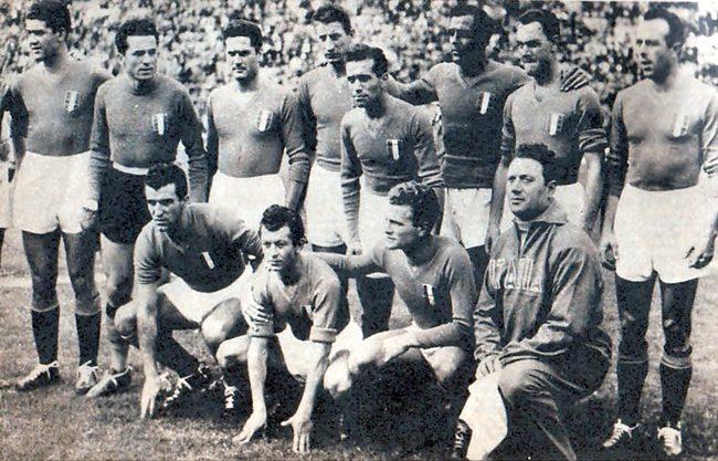 La nazionale italiana ai Mondiali del 1950 e la lunga traversata verso il Brasile