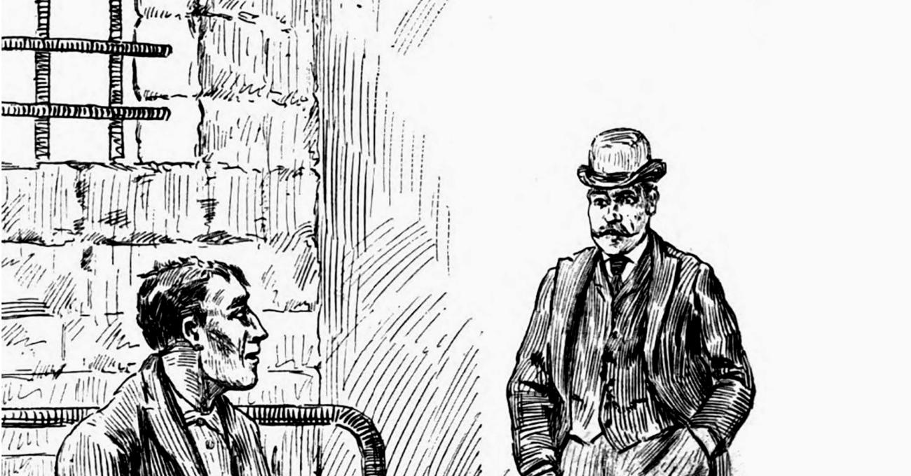 «Il mio amico, l'assassino» di Arthur Conan Doyle