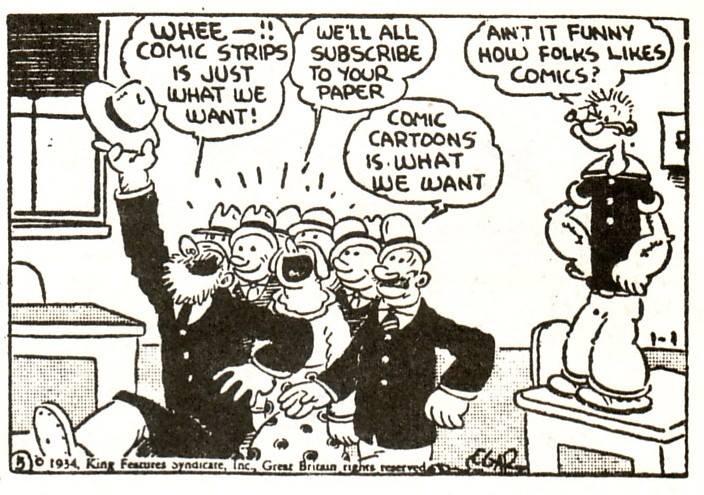 E. C. Segar, Popeye