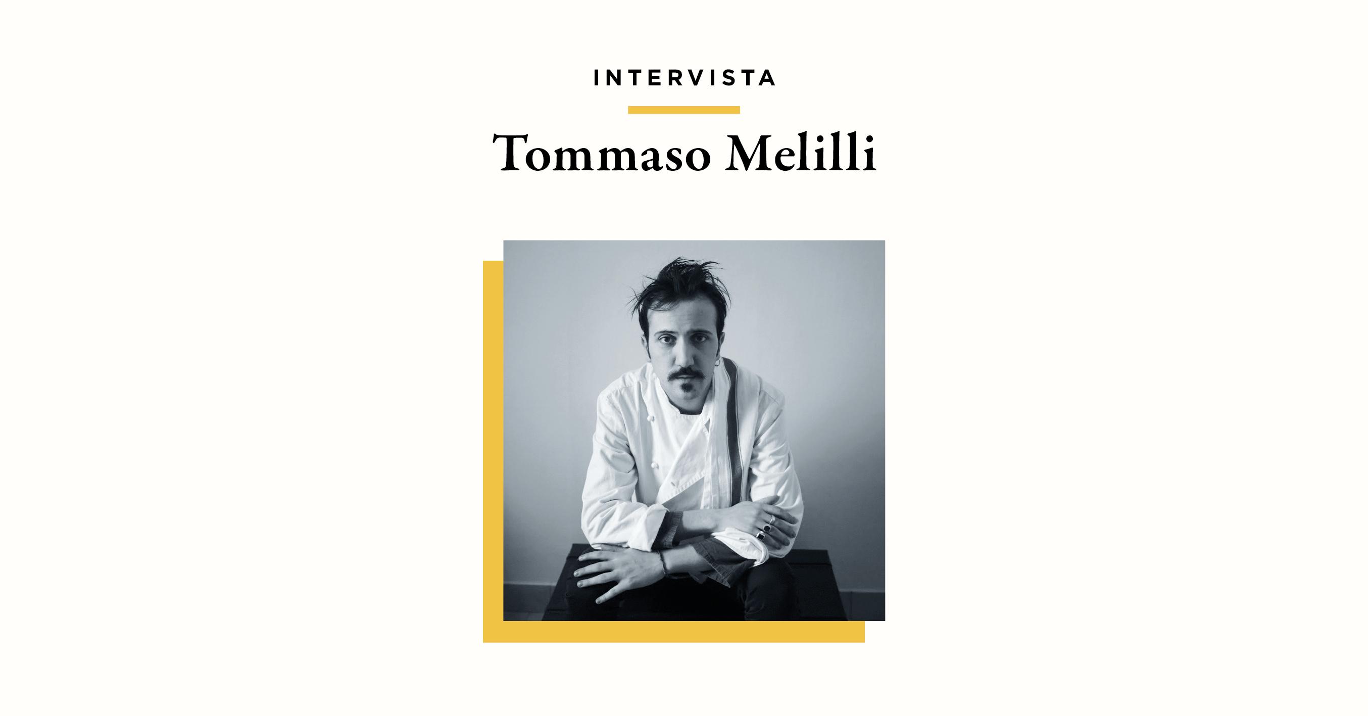 Scrivere col mestolo: Il ritorno in Italia di Tommaso Melilli